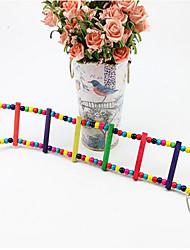 madeira brinquedos pássaro multi-color