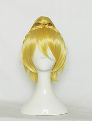 Re Life In A Different World From Zero Felt Golden Short Cosplay Wig