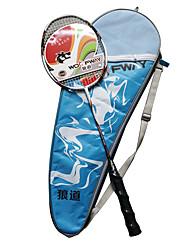 Raquetes para Badminton Pouco Atrito ao Vento Durabilidade Leve Fibra de Carbono Um Par para