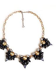 Women's Pendant Necklaces Imitation Diamond Imitation Pearl Rhinestone Chrome Rhinestone Imitation Pearl Euramerican Fashion Jewelry For