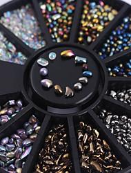 Chameleon Mixed Irregular Beads Crafts Charms 3D Nail Art Manicure Decoration