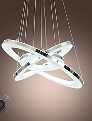 Dimmable Acrylic LED Pendant Light Ceiling Chandeliers Lamp Lighting 68W with Remote Control