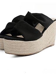 Loafers para mulheres&Slip-ons Primavera primavera inverno solas seda casual