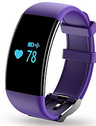 pulsera pulsera inteligente Bluetooth 4.0 0,66 ritmo cardíaco OLED monitoreo de pulsera inteligente