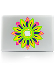 For MacBook Air 11 13/Pro13 15/Pro With Retina13 15/MacBook12 Sunflowers Decorative Skin Sticker Glow in The Dark