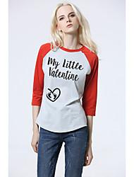 Signer aliexpress amazon women&Les modèles d'explosion du commerce extérieur 2017 nouveaux t-shirts imprimés