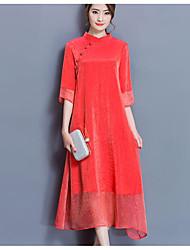 signe dames printemps vent chinois améliorée robe nationale jupe de soie robe cheongsam