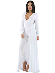 Maxi Skirt Overlay Elegant Party Jumpsuit