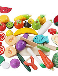 Conjuntos Toy Cozinha Toy Foods Vegetais Plástico Crianças 5 a 7 Anos 8 a 13 Anos 14 Anos ou Mais