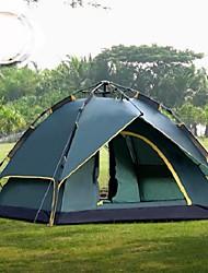 2 Pessoas Duplo Um Quarto Barraca de acampamentoEquitação Campismo Viajar-Verde