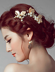 Women's Alloy Headpiece-Wedding Special Occasion Casual Hair Clip Hair Pin Hair Stick 2 Pieces