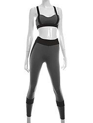 Yoga Clothing Sets/Suits Breathable Sweat-wicking Soft Comfortable Stretchy Sports Wear Women'sYoga