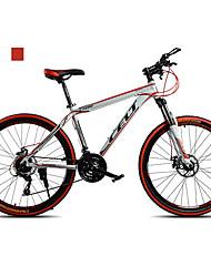 Geländerad Radsport 21 Geschwindigkeit 26 Zoll/700CC Doppelte Scheibenbremsen Federgabel Ohne Dämpfung gewöhnlich Rutschfest