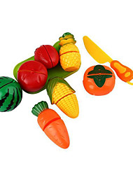 Jeu de jeux pour enfants Jeu de jouets de cuisine Cuisine Ustensiles de cuisine et vaisselle 3-6 ans bébé fruits et le ab