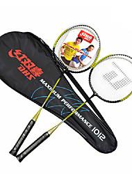 Raquetes para Badminton Pouco Atrito ao Vento Durável Um Par para