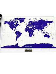 Scratch Map Luminous World Edition China Version Travel Creative Birthday Gifts Send Male Female Friends Practical Gifts China
