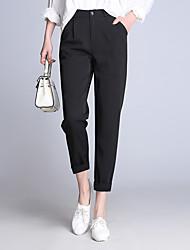 signe 2017 printemps nouvelles femmes pantalon neuf points korean pantalon de costume taille était mince harems pieds de loisirs