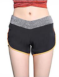 calças de yoga Shorts largos Respirável Elástico Macio Confortável Natural Com Elástico Moda Esportiva Mulheres Ioga