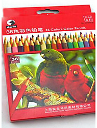 24 Colors Children Painting Non-toxic Color Lead Suit