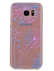 For Samsung Galaxy S8 S7 Edge Dandelion Pattern Soft TPU Material Phone Case for S7 S6 Edge S6 S5 S5 Mini