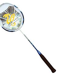 Raquettes de Badminton Durable Fibre de Carbone 1 Pièce pour