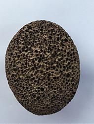 1Pcs  Foot Stone Exfoliating Natural Lava Stone Grill Aquarium Foot Rub Pumice Stone Exfoliates Calluses Foot Care Tool Style Random