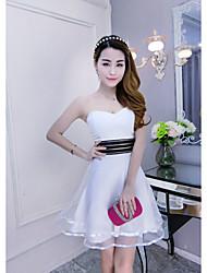 Signo atractivo vestido de organza vestido tutú vestido