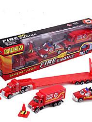 Dibang - alliage de jouets voiture modèle de simulation de voiture de jouet de ville pour enfants (4pcs)