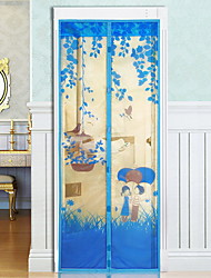 90*210cm Magnetic Soft Screen Door Anti Mosquito Door Curtain