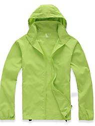 Муж. Жен. Универсальные Куртка для туризма и прогулок Сохраняет тепло Быстровысыхающий Ультрафиолетовая устойчивость Дышащий Верхняя часть