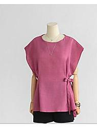 2016 новая мода свободно большие ярдов рукав летучая мышь хлопка футболку тонкий белье куртка женщин&# 39, S летом шлиф