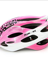 Sports Women's Bike Helmet 24 Vents Cycling Cycling One Size PC Pink