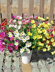 1 Une succursale Fibre Orchidées Fleur de Table Fleurs artificielles 30*30*50