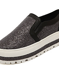 Women's Sneakers Spring Comfort Fabric Casual Creepers Sequin