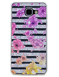 For Samsung Galaxy A3(2017) A5(2017) Flower Pattern Soft TPU Material Phone Case for A7(2017) A510 A310