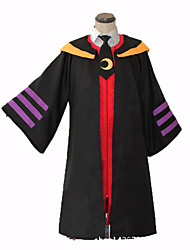 Cosplay Cosplay Costumes Festival/Holiday Halloween Costumes Solid Collar Cloak Carnival Unisex Uniform Cloth