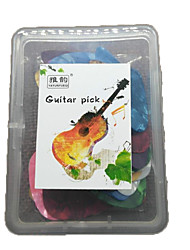A Box Of 50 Pieces Professional Pick High Class Guitar Acoustic Guitar Electric Guitar New Instrument Plastic Musical Instrument Accessories 0.46MM