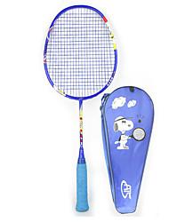 Raquettes de Badminton 50.0*20.0*5.0 Indéformable Haute élasticité Durable Légère pour Extérieur Sport de détente Fibre de carbone