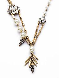 Women's Pendant Necklaces Jewelry Chrome Unique Design Luxury Jewelry For Gift Valentine 1pc