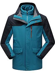 LEIBINDI® Men's Winter Jacket 3-in-1 Jackets Skiing Climbing Outdoor Sport Hiking Snowsports Waterproof Windproof Thermal / Warm Windproof