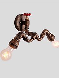 AC 100-240 120 E26/E27 Rústico/Campestre Rústico Retro Vintage Pintura Característica for Estilo Mini,Luz Ambiente Lâmpadas de ParedeLuz