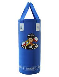 treinamento de força boxe nylon saco azul perfuração