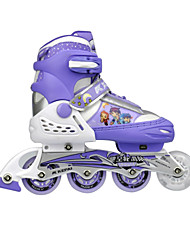 Kid's Inline SkatesBlue/White/Blushing Pink