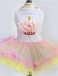Chien Robe Vêtements pour Chien Mignon Princesse