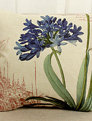 1 Pcs  beautiful flower Decorative Pillow Cover
