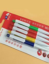 2 Boxes of Ballpoint Pen Office Supplies Student Stationery 5pcs Per Box