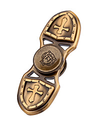 Crusader Fidget Toy Alloy Hand Spinner For Autism and ADHD Rotation Time Long Anti Stress Toys