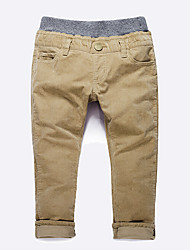 Boys' Casual/Daily Solid Pants Winter Fall