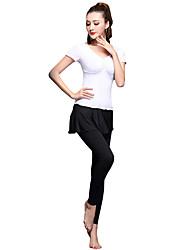 Devrions-nous des tenues de danse en latin Femmes en train d'entraîner des pantalons supérieurs 2 pièces