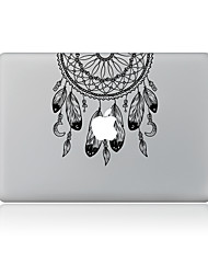 For MacBook Air 11 13/Pro13 15/Pro With Retina13 15/MacBook12 Black Feathers Decorative Skin Sticker